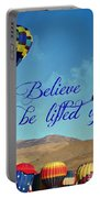 Believe And Be Lifted Up Portable Battery Charger