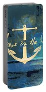 Believe In The Sea Anchor Portable Battery Charger