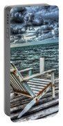 Belize Beach Chair #2 Portable Battery Charger