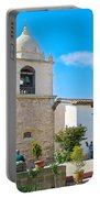 Bell Tower  In Carmel Mission-california  Portable Battery Charger