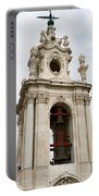 Bell Tower With Red   Portable Battery Charger