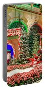 Bellagio Christmas Train Decorations Angled 2017 2 To 1 Aspect Ratio Portable Battery Charger