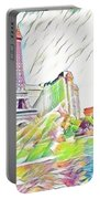 Bellagio Fountains Portable Battery Charger