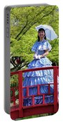 Belle On Red Bridge Portable Battery Charger
