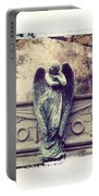 Bellefontaine Angel Polaroid Transfer Portable Battery Charger by Jane Linders