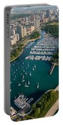 Belmont Harbor Chicago Portable Battery Charger