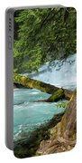 Below The Falls Portable Battery Charger