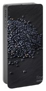 Beluga Lentils Portable Battery Charger