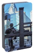 Ben Franklin Printing Press - Philadelphia Portable Battery Charger