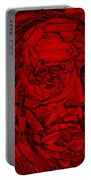 Ben In Wood Red Portable Battery Charger