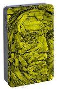Ben In Wood Yellow Portable Battery Charger