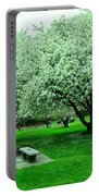 Bench Among.the Blossoms Portable Battery Charger