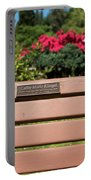Bench In Steelhead Park Portable Battery Charger