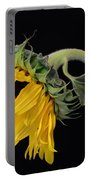 Bending Sunflower Portable Battery Charger
