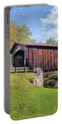 Benetka Road Covered Bridge Portable Battery Charger