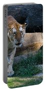 Bengal Tiger On The Prowl Portable Battery Charger