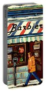 Bens Barbershop Portable Battery Charger