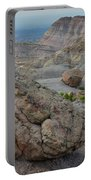 Bentonite Dunes In Bangs Canyon Portable Battery Charger
