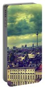 Berlin Skyline And Roofscape Portable Battery Charger