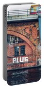 Berlin Street Art - Pull The Plug Portable Battery Charger
