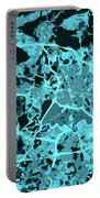 Berlin Traffic Abstract Blue Map Portable Battery Charger