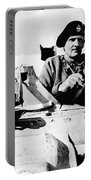 Bernard Law Montgomery Portable Battery Charger by War Is Hell Store