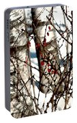 Berries And Birches Portable Battery Charger
