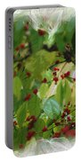 Berries And Leaves 51 Portable Battery Charger