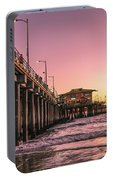 Beside The Pier By Mike-hope Portable Battery Charger