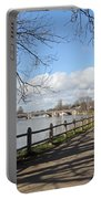 Beside The Thames At Hampton Court London Uk Portable Battery Charger