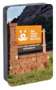 Best Friends Animal Sanctuary Angel Canyon Knob Utah Signage 01 Portable Battery Charger