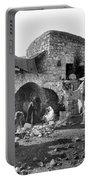 Bethlehem - Nativity Scene Year 1900 Portable Battery Charger