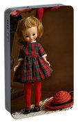 Betsy In Plaid Portable Battery Charger