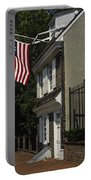 Betsy Ross House Philadelphia Portable Battery Charger