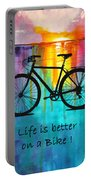 Better On A Bike Portable Battery Charger