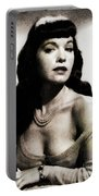 Bettie Page, Pinup Model Portable Battery Charger
