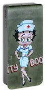 Betty Boop As A Nurse Portable Battery Charger