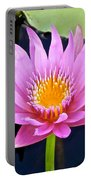 Beyond Beautiful Water Lily 2 Portable Battery Charger