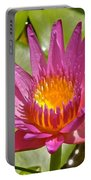 Beyond Beautiful Water Lily 3 Portable Battery Charger