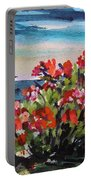 Beyond Sea Roses Portable Battery Charger
