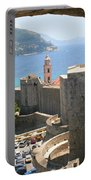 Beyond The Walls Of Old Dubrovnik Portable Battery Charger