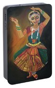 Bharatnatyam Portable Battery Charger