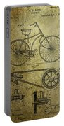 Bicycle Patent  1890 Portable Battery Charger