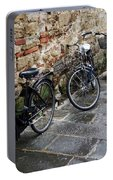 Bicycles In Rome Portable Battery Charger