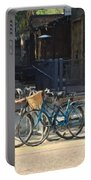 Bicycles On Main Street Portable Battery Charger