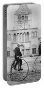 Bicycling, 1880s Portable Battery Charger
