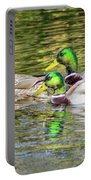 Bidwell Ducks In Fall Portable Battery Charger