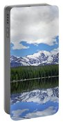 Bierstadt Lake Panorama Portable Battery Charger