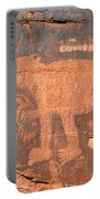 Big Bear Petroglyph Portable Battery Charger