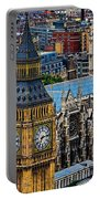 Big Ben And Westminster Abbey Portable Battery Charger